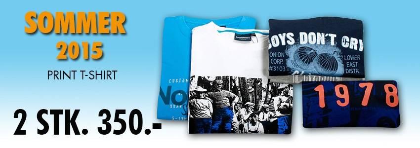 Sommer 2015 print t-shirt