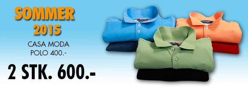 Sommer 2015 casa moda polo 2 stk. 600