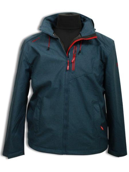 Firts B softshell jakke (Jeans Blue)