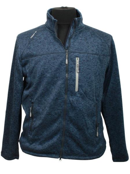 First B Knit Fleece (Blue)