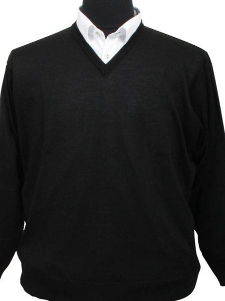 Breidhof Pullover (Sort)