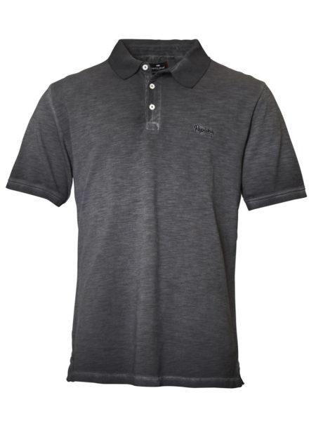 Replika Polo T-Shirt (Black)