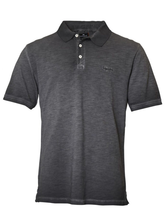 Replika Polo T-Shirt (Black)
