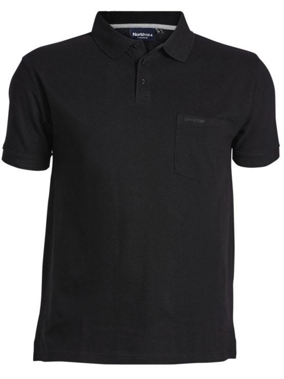 Klassisk North 56`4 Polo T-Shirt kortærme (7xl-8xl)