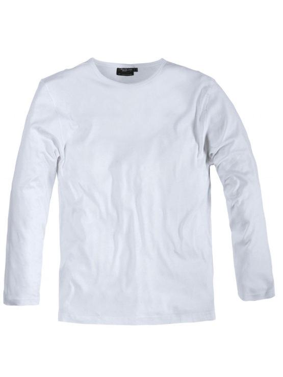 Klassisk Replika t-shirt langtærme (Hvid)