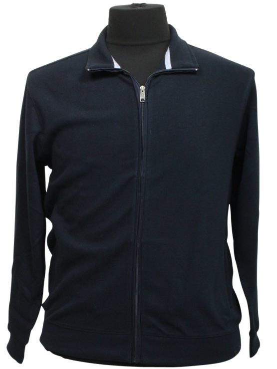 Klassisk Stonehill Sweat Cardigan (Navy)