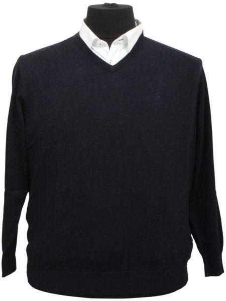 Eksklusiv Casa Moda Pullover (Navy)