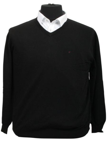 Eksklusiv Casa Moda Pullover (Sort)