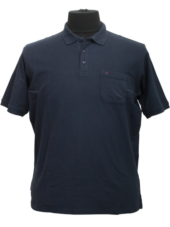 Casa Moda polo t-shirt (Navy)