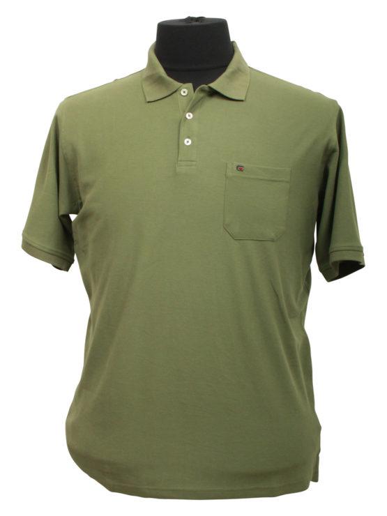 Casa Moda polo t-shirt (Army)
