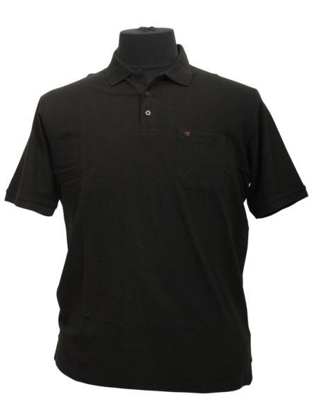 Casa Moda polo t-shirt (Sort)