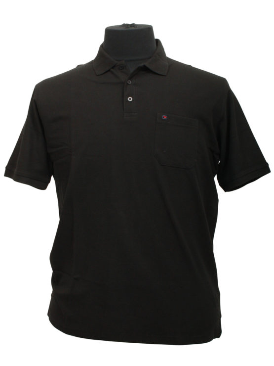 Casa Moda polo t-shirt (Sort)