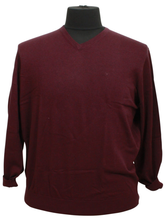 Eksklusiv Casa Moda Pullover (Bordaux)