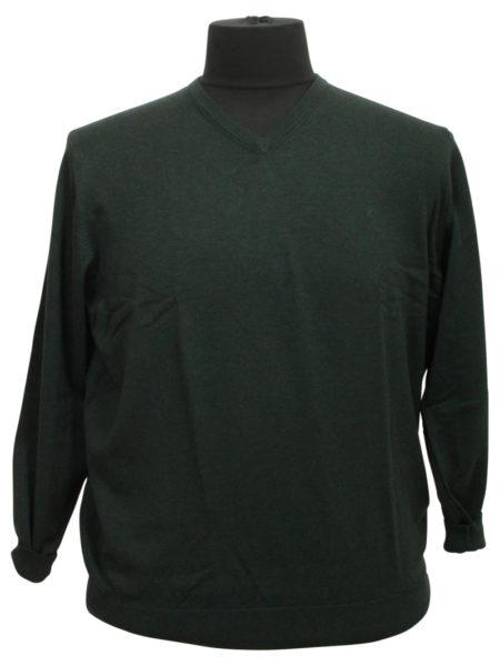 Eksklusiv Casa Moda Pullover (Oliven)