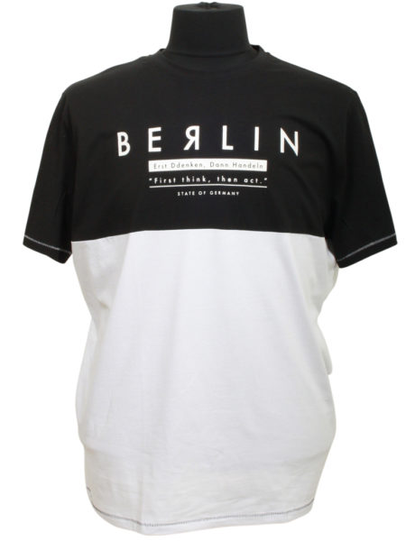 Berlin Print T-Shirt (Sort)