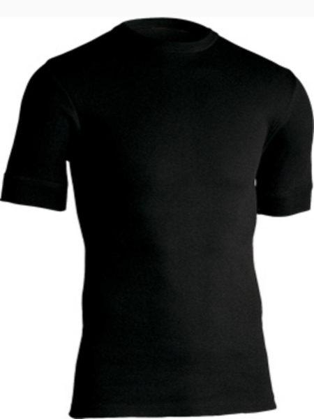 Jbs undertrøje med lille ærme (Sort)