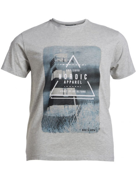 Nordic Print T-Shirt (Grå)
