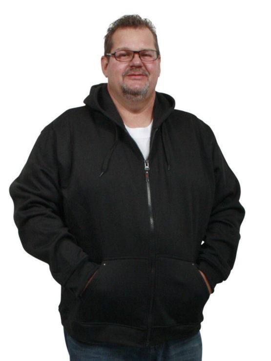 Rockford hætte trøje (Sort)
