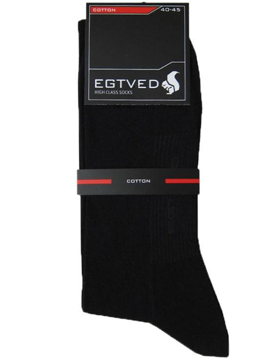 3 par Egtved bomulds sokker uden elastik